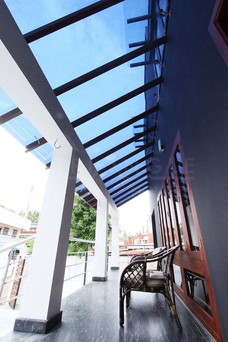 Traditional Wooden Rafter with Tempered and Cooling Lamination Coating