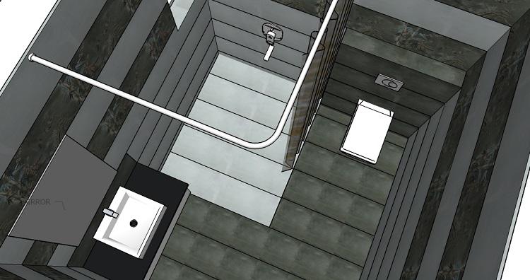 Wash room Concept design