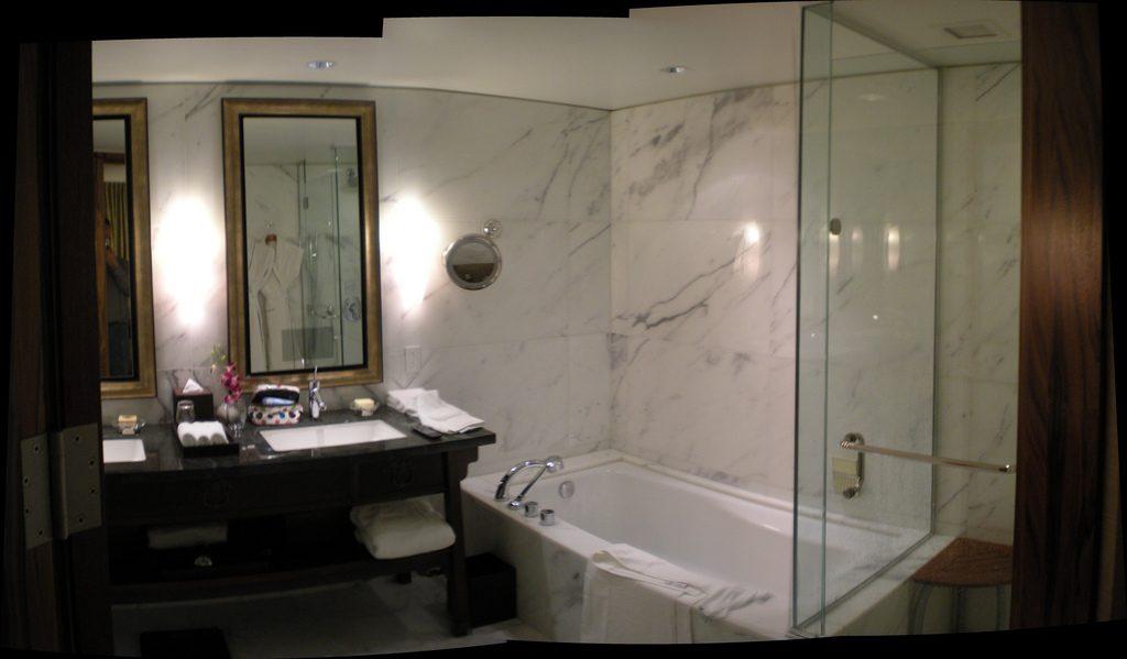 high tech bathroom